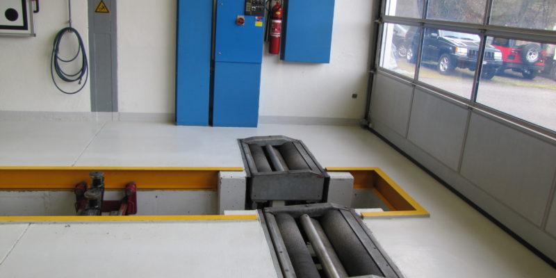 Garage Seewental AG - Bremsprüfstand