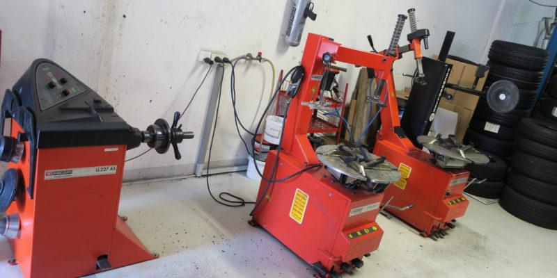 Garage Seewental AG - Reifenmontage